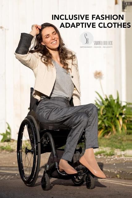 Moda para Todos – Samanta Bullock lança uma loja que une luxo e funcionalidade nas roupas para as pessoas com deficiência