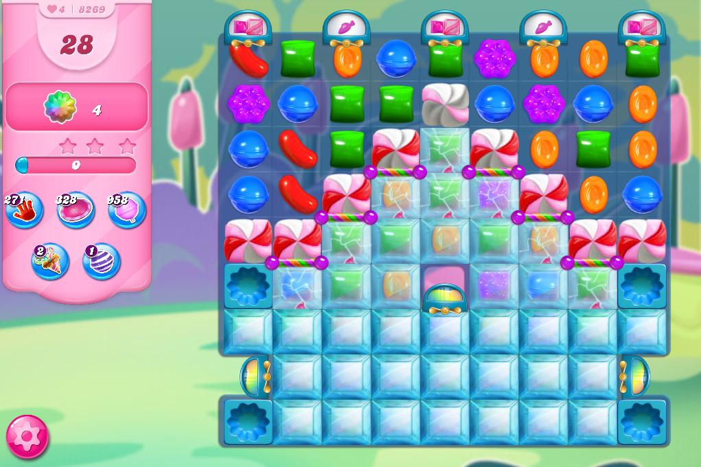 Candy Crush Saga level 8269