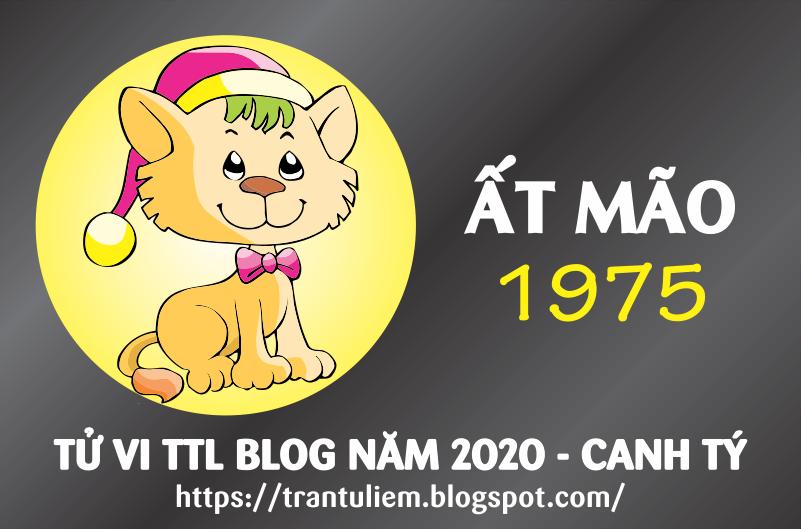 TỬ VI TUỔI ẤT MÃO 1975 NĂM 2020
