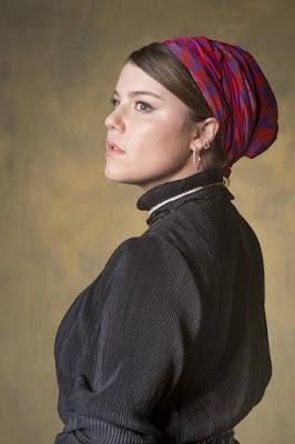 Alice Wegmann caracterizada como Dalila, de 'Órfãos da Terra' — Foto: Paulo Belote/TV Globo