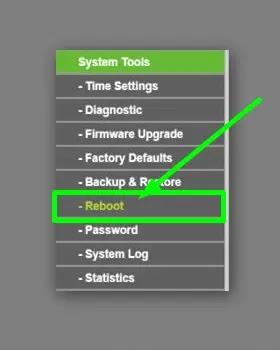 طريقة اعادة تشغيل الراوتر عن بعد tp-link