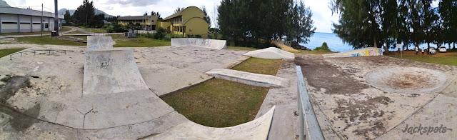 Skatepark Victoria Seychelles