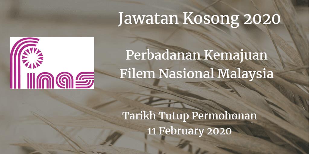 Jawatan Kosong FINAS 11 February 2020