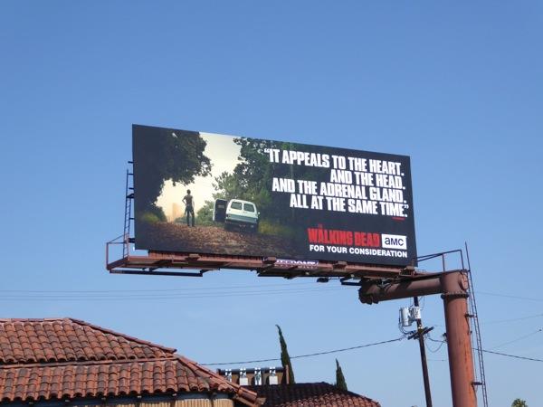 Walking Dead 2016 Emmy FYC billboard