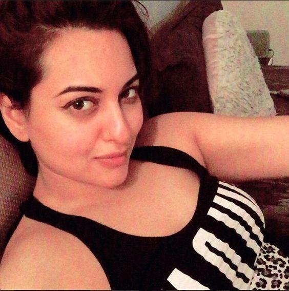 Sonakshi Sinha without make up photo