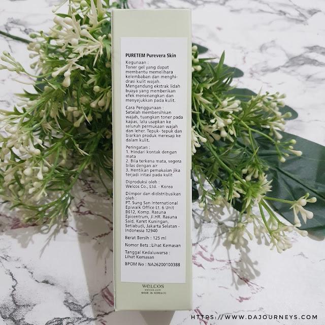 Review Puretem Purevera Skin