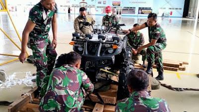 Yonbekang 2 Kostrad Turut Andil Dalam Latihan Pemantapan Operasi Hanlan Korpaskhas