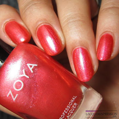 nail polish swatch and review of Zoya Journey from the summer 2017 Wanderlust collection