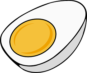 البيض المسلوق سناك صحي صديق للرجيم