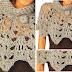 Capa de picos en crochet / explicaciones en español