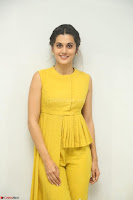 Taapsee Pannu looks mesmerizing in Yellow for her Telugu Movie Anando hma motion poster launch ~  Exclusive 095.JPG