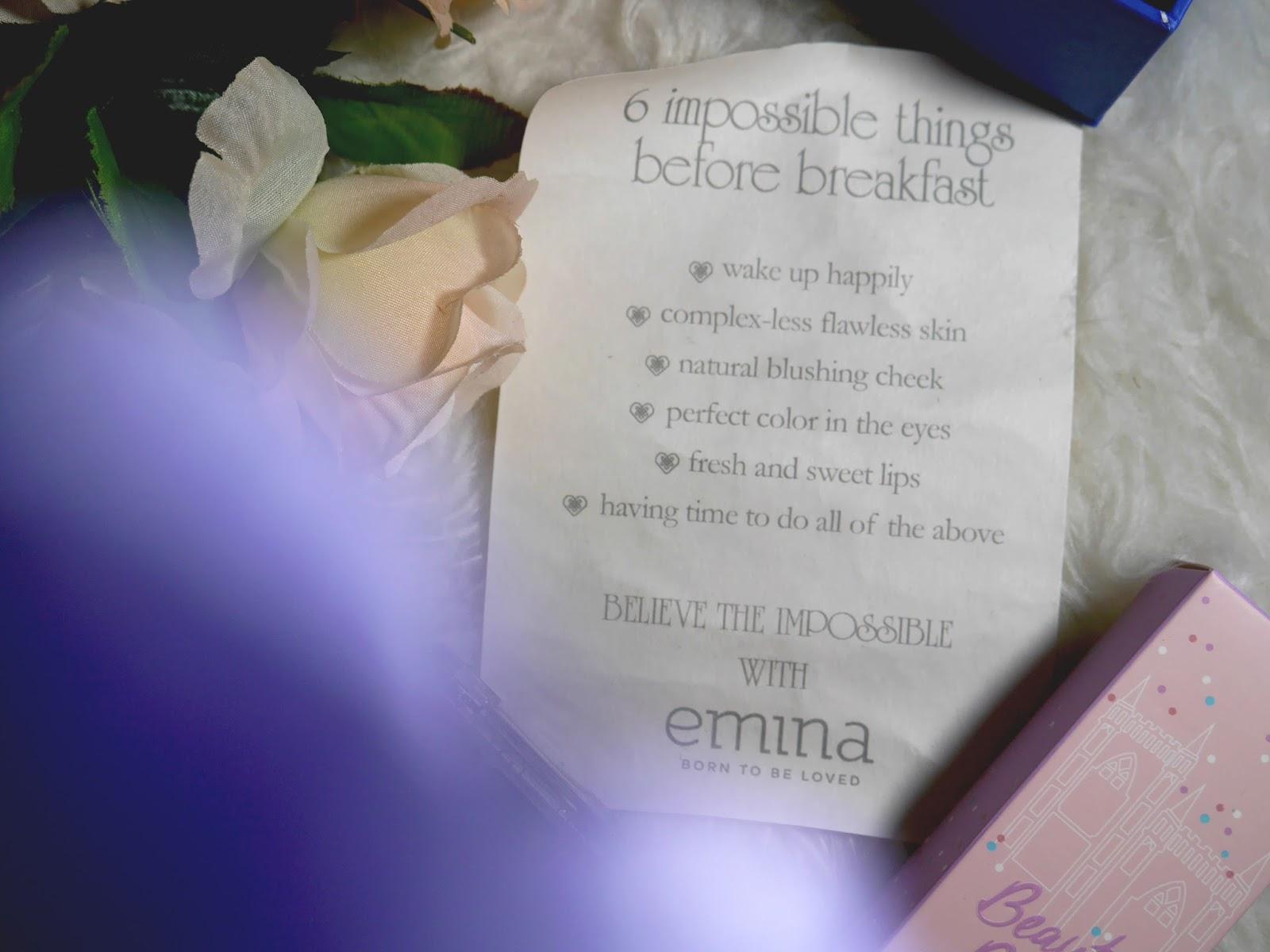 Special Edition Box Emina X Disney Alice Through The Looking Glass Beauty Bliss Bb Cream Natural Dalam 1 Tersebut Sudah Include Pop Rouge Eyeshadow Cheeklit Blush Dan Creme De La Ceme Red