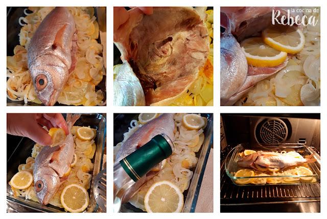 Receta de besugo al horno: preparación del besugo