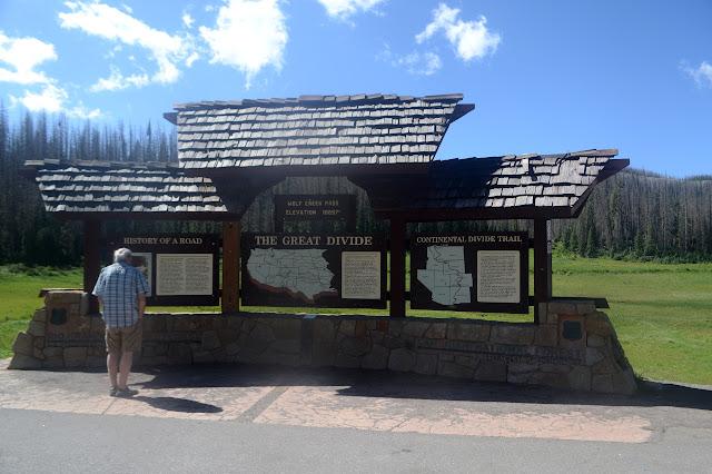 interpretive site at Wolf Creek Pass