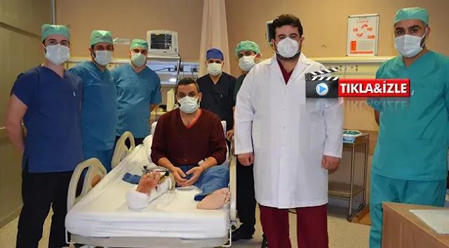Şanlıurfa ve bölgede ilk kez ameliyatı yapıldı