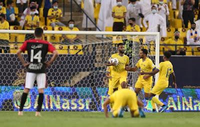 ملخص اهداف مباراة النصر والرائد (3-1) الدوري السعودي