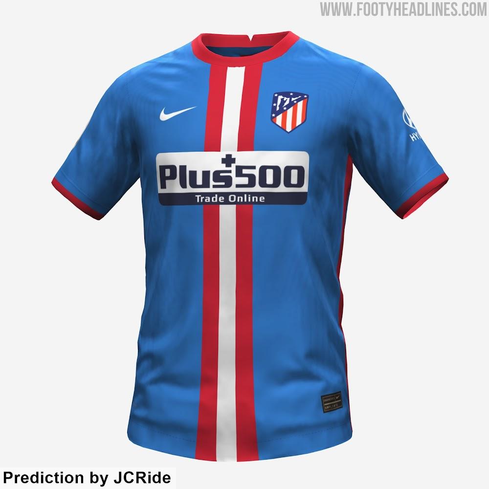Tercera equipación del Atlético de Madrid 21-22 2