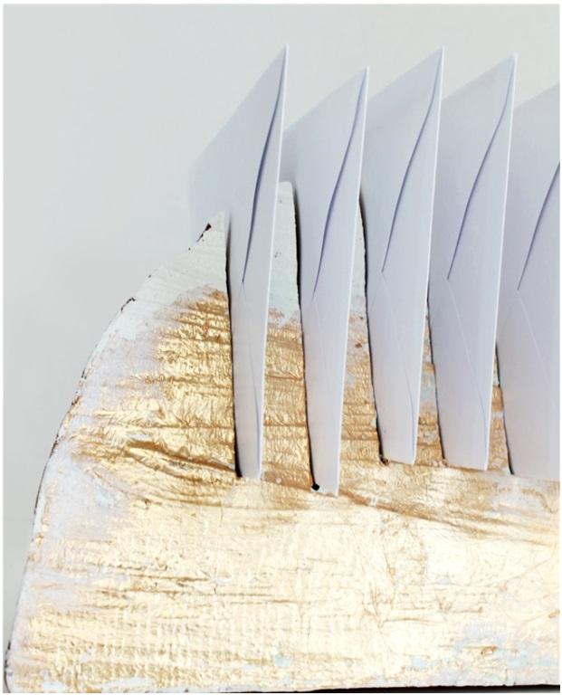 Kütük Ağaçtan Zarf Standı  Yapımı