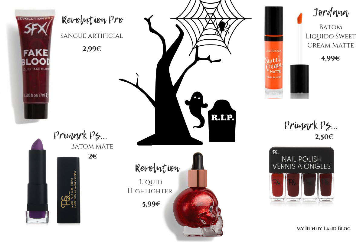 Halloween makeup products