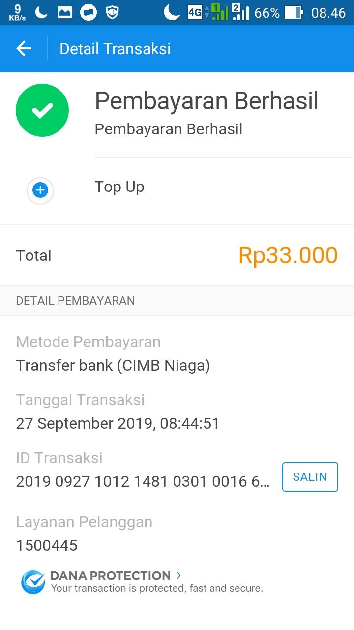 cara transfer saldo linkaja ke dana