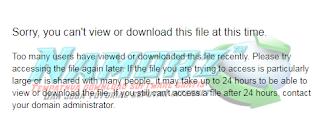 Cara Mengatasi Tidak Bisa Download di Google Drive Karena Terkena Limit
