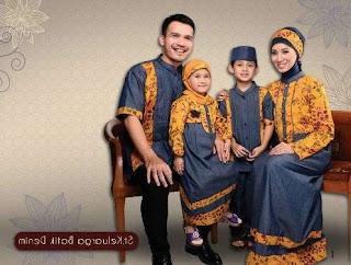 Baju lebaran batik muslim
