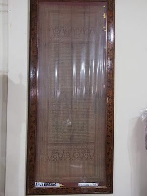 songket lepus bintang tahun 1757