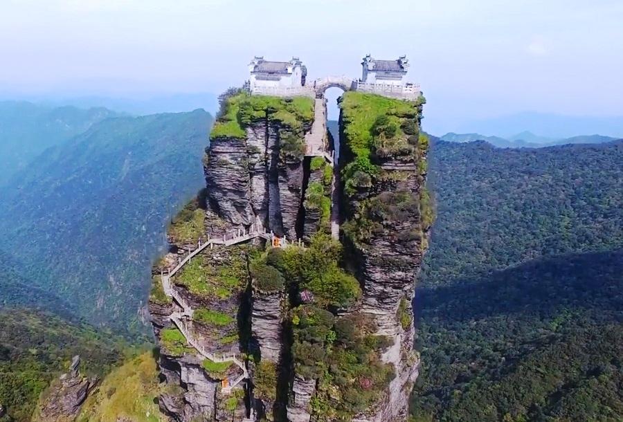 Fanjingshan (Mount Fanjing), China - A Sacred Mountain of Buddhism