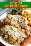 #Crock #Pot #Chicken #and #Stuffing