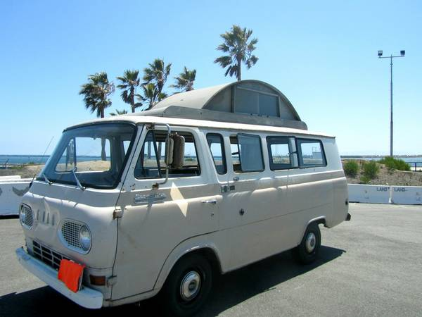 Used Rvs 1966 Ford Econoline Supervan Camper For Sale By Owner