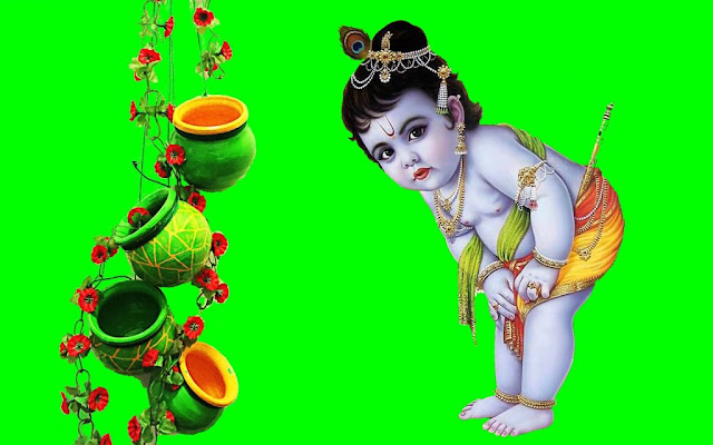 Krishna Baby  Wallpaper