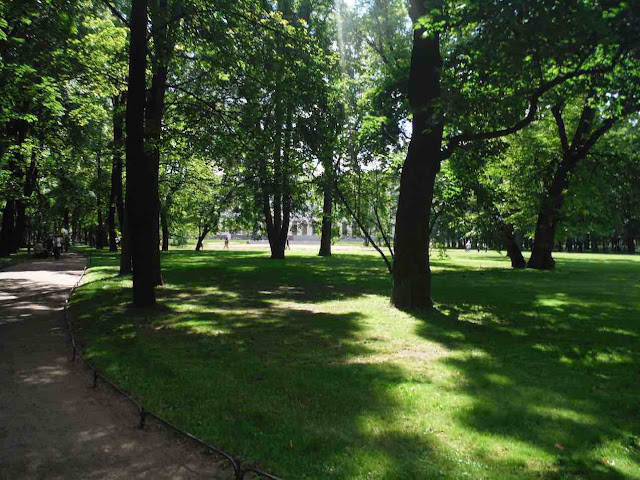 The Mikhailovsky Garden, St. Petersburg