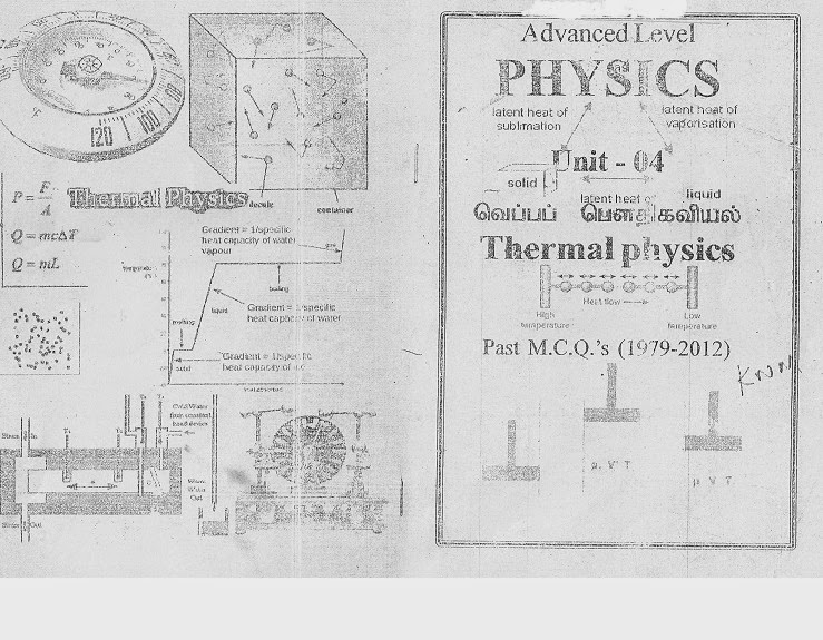 BattiStudent: Thermal Physics(Heat) Past paper MCQ 1979