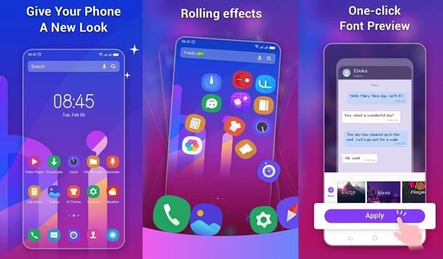 HiOS Launcher Android Ringan Terbaik