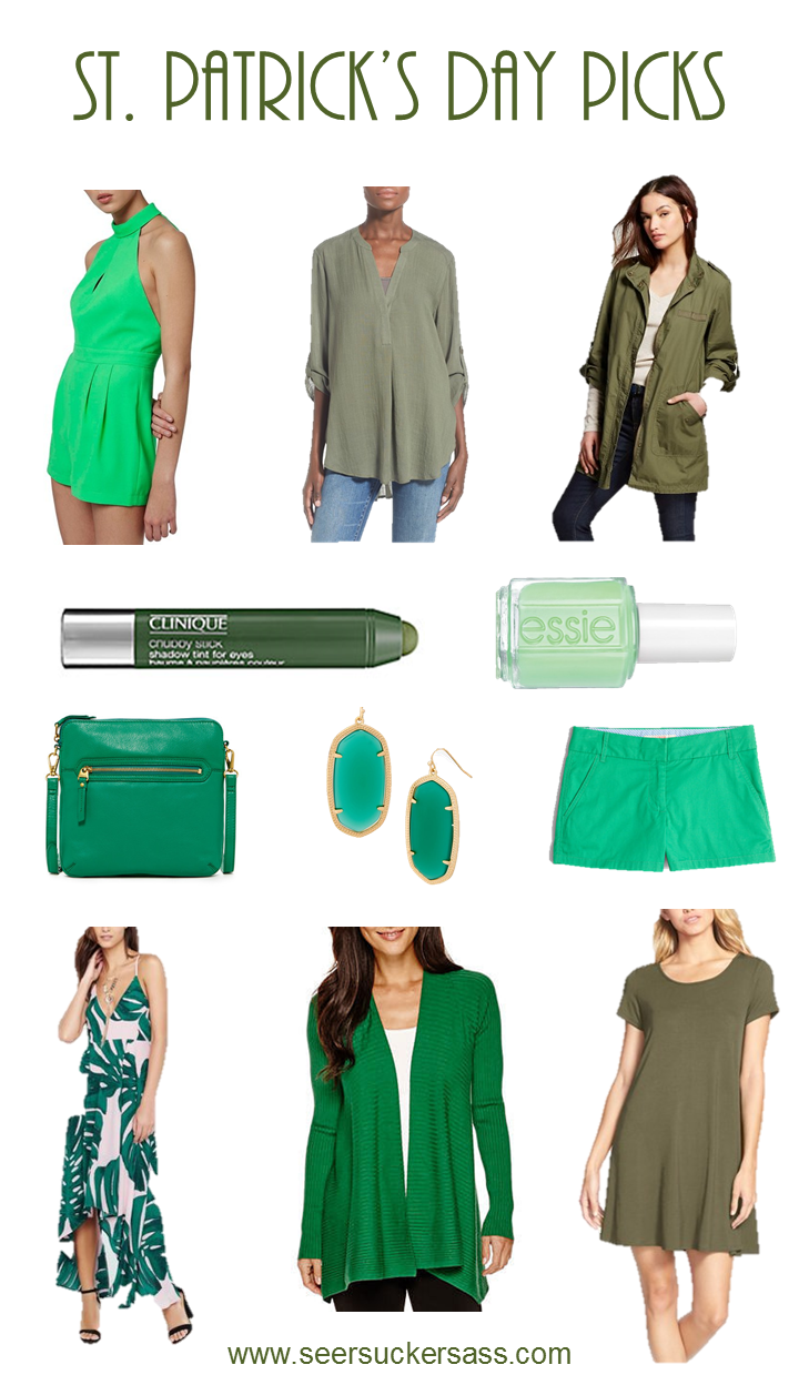 What to wear St. Patrick's Day under $100