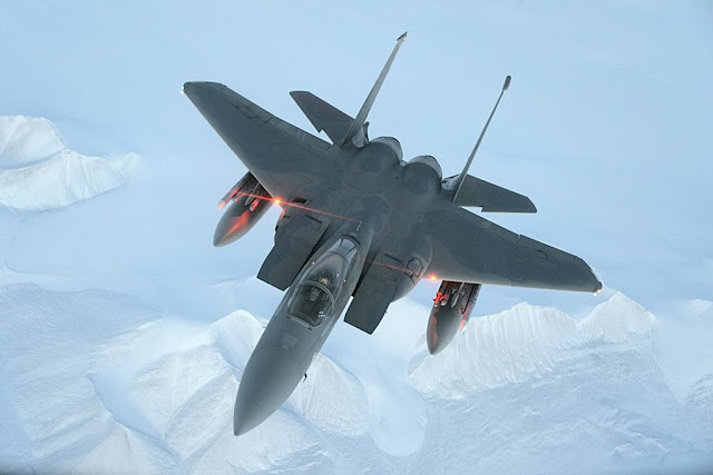 F-15 Ukraine Clear Sky exercise