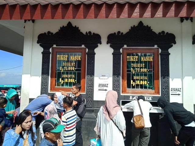 Candi Gedong Songo, Semarang Jawa Tengah - loket