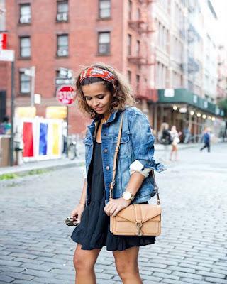 outfit con jacket de mezclilla