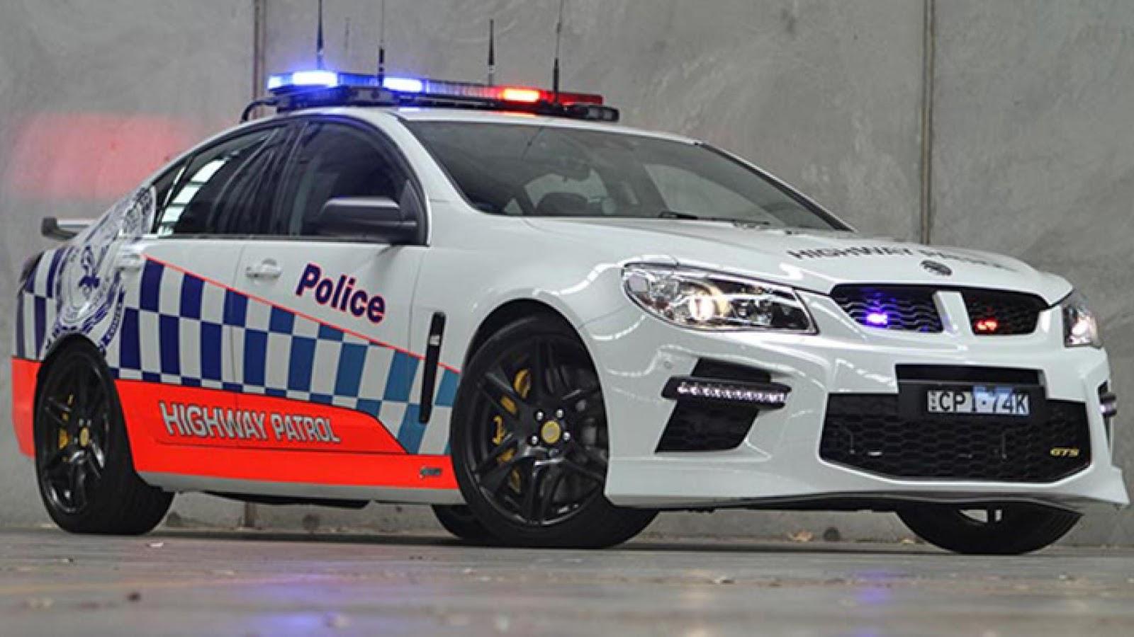 Australian police HSV GTS