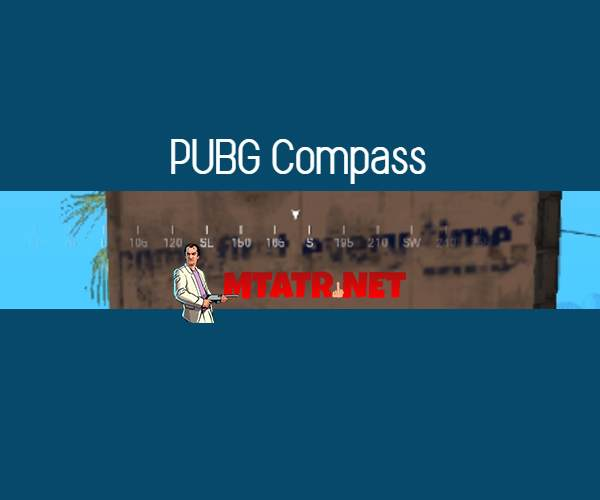 MTA SA PUBG Compass
