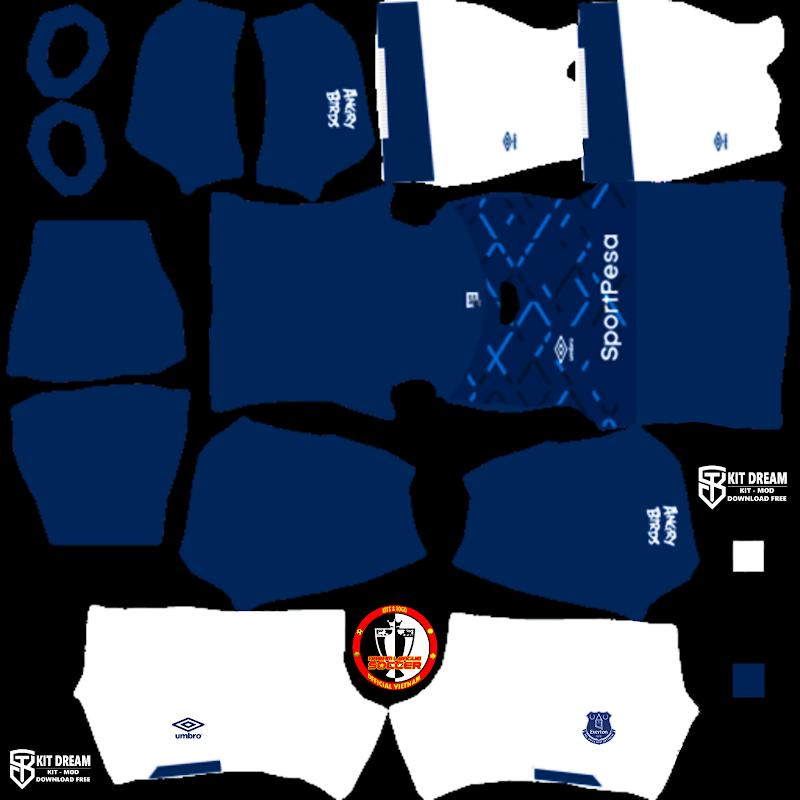 Kits Everton - Dream League Soccer 2021