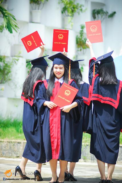 Cho thuê đồ tốt nghiệp tại Sài Gòn
