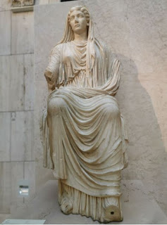 Madrid, Museo Arqueológico Nacional. La escultura de Livia.