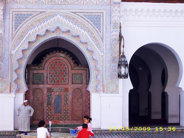 moscheea-universitate-islamica-fes-maroc