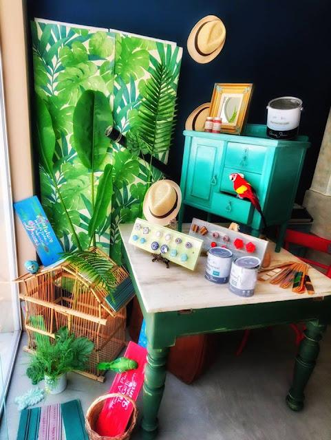 Tropical Look 6 Annie Sloan Greece