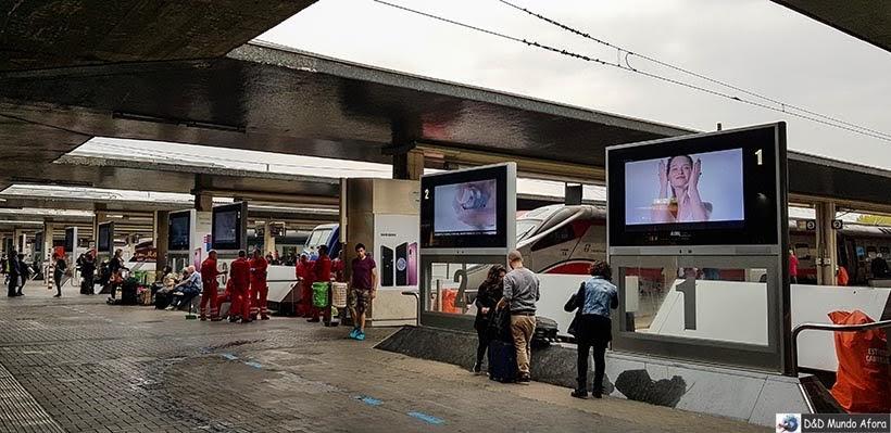 Estação Santa Lúcia - Diário de Bordo - 1 dia em Veneza