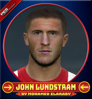 PES 2017 Faces John Lundstram by M.Elaraby