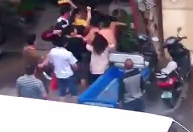This Abusive Man Mercilessly Beats His Innocent Wife, What Happened Next Was A Dose Of Karma For Him!