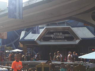 Star Tours Entrance Disneyland