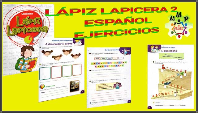 LÁPIZ LAPICERA 2-ESPAÑOL